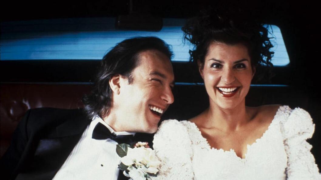 <strong>KJEMPESUKSESS:</strong> Den vesle indiefilmen «Mitt Store Fete Greske Bryllup» ble en enorm suksess da den dukka opp på kino i 2002.