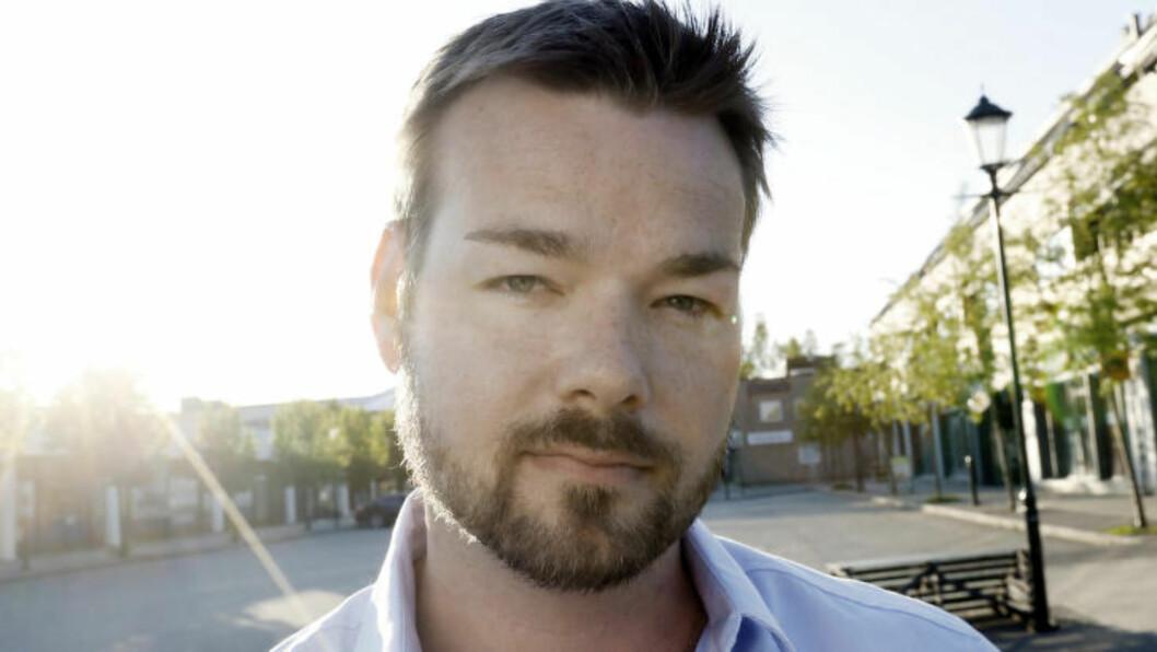 Michael Winger var med på å finne den døde.  Foto: Anita Arntzen / Dagbladet