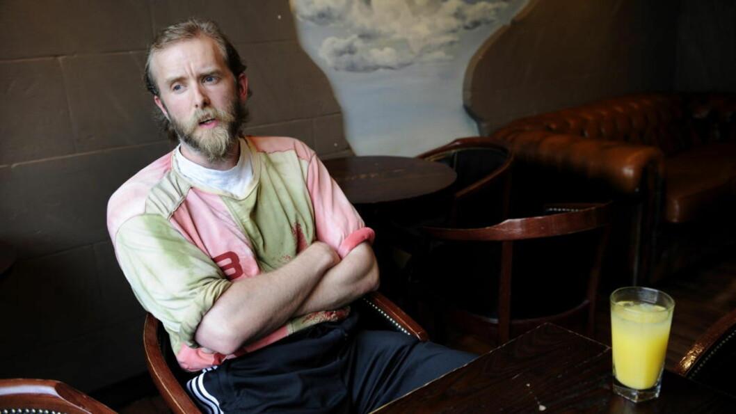 FOR RETTEN: Varg Vikernes, tidligere kjent som «Greven», må i morgen møte i retten i Paris, tiltalt for forherligelse av krigshandlinger og oppfordring til rasehat. Foto: Ingun Mæhlum