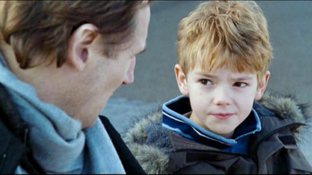 DENGANG DA: Og slik så han ut i «Love Actually» (2003). Her sammen med Liam Neeson.