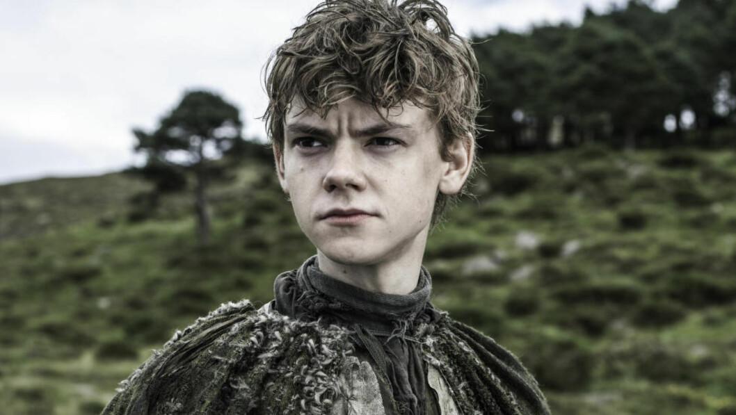 FANTASYFYR: I tv-serien «Game of Thrones» spiller Thomas Brodie-Sangster klarsynte Jojen Reed. Foto: HBO NORDIC