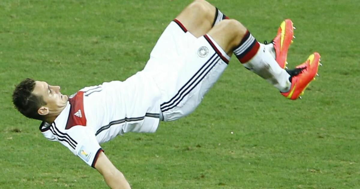 - Jeg har 15 mål på 20 VM-kamper: Det er ikke verst ...