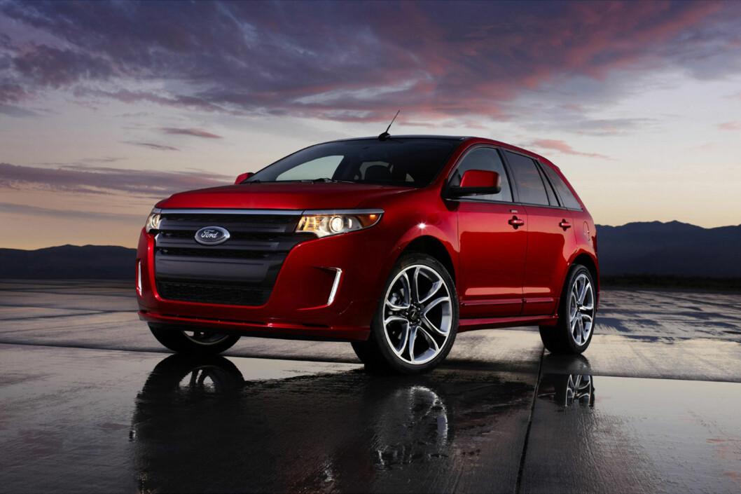 <strong>Nå er det offisielt:</strong> Folk i Europa skal også få kjøpe Ford Edge fra sin Ford-forhandler. Ford har bestemt å globalisere tilbudet som en del av sin nye store Europa-satsning. Foto: Ford
