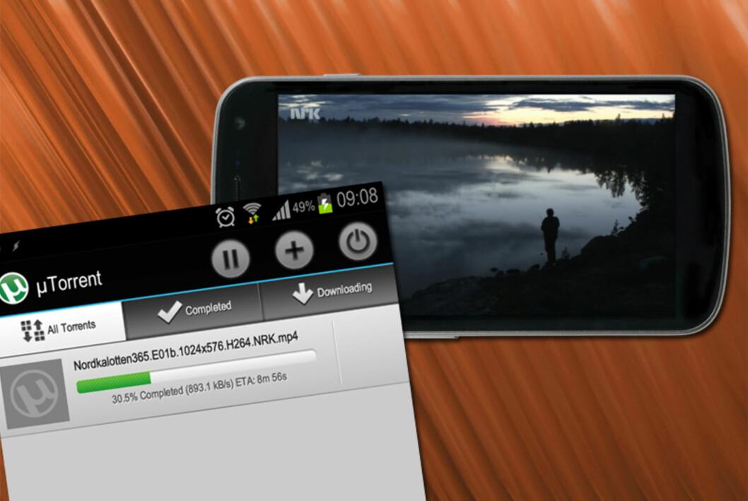En av de mest populære BitTorrent-klientene, µTorrent, er nå tilgjengelig for Android.