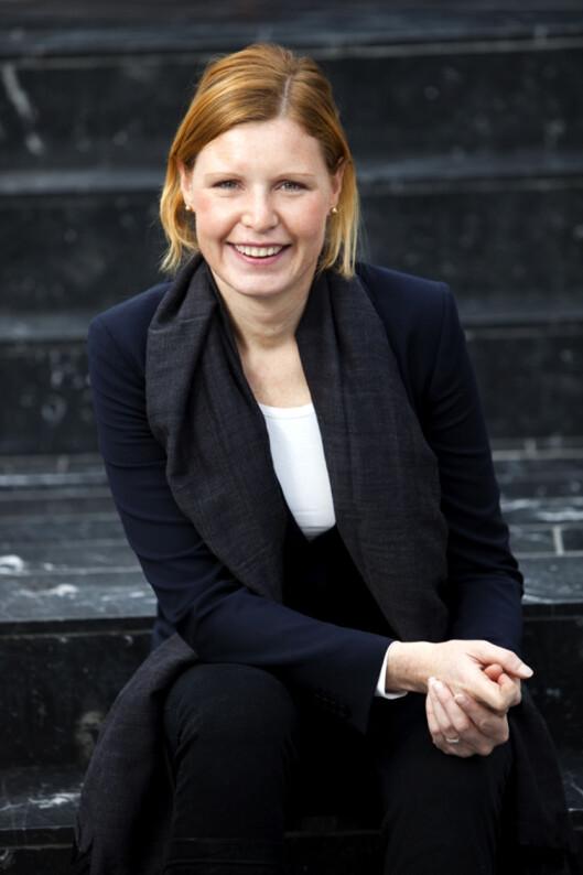 Christine Warloe i Nordea. Foto: Nordea