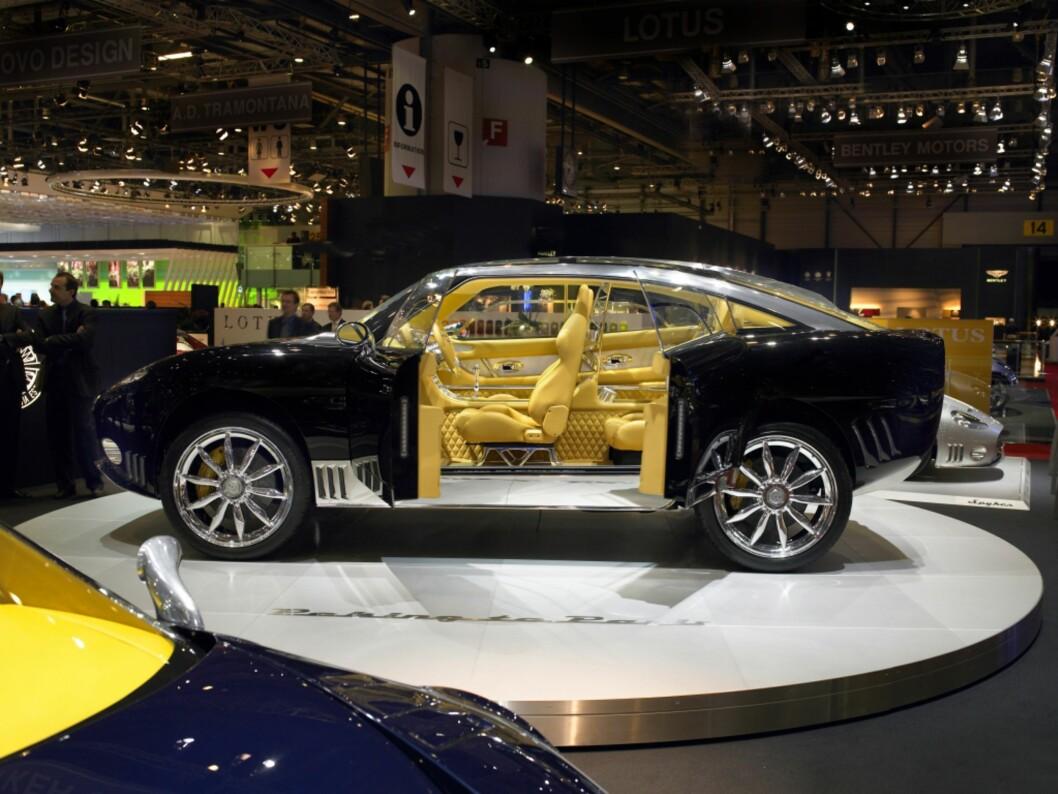 Dette er Spyker D12 Peking-to-Paris, som ble vist i Genève i 2006. Nå er prosjektet vekket til live igjen, takket være kinesisk kapital.