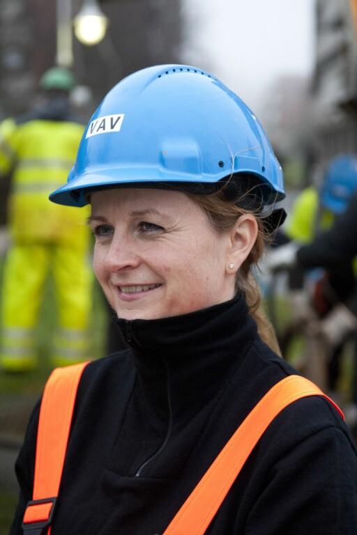 Vivi Paulsen, overingeniør i VAV, Oslo kommune.  Foto: Katrine Lunke