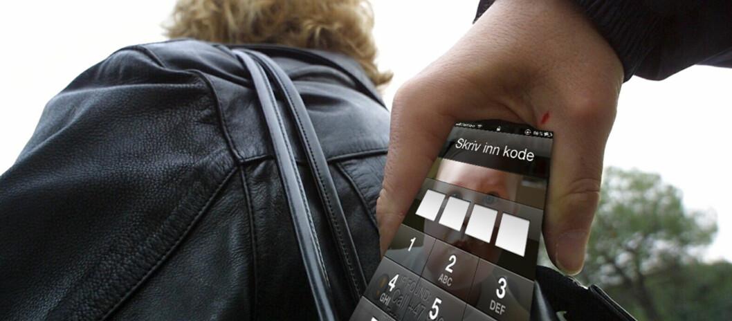 <b>DETTE VIL TYVEN HA!</b> Ifølge If er det en økning i tyverier av mobiltelefoner, briller og verdigjenstander, mens det er en reduksjon i tyverier av kamera og penger. Foto: Ill./Colourbox