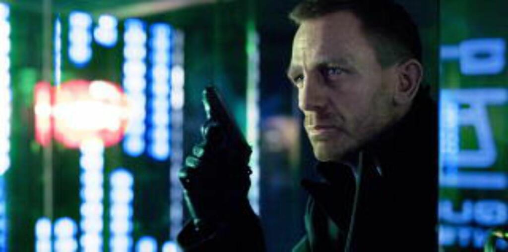 JAMES BOND: Marie Bach Hansen kunne vært baben til Daniel Craig. Foto. Columbia Pictures