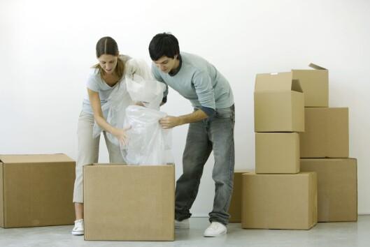 <strong>SAYONARA:</strong> Når kan du flytte ut? Det er ingen selvfølge at du selv kan bestemme det, etter at kontrakten er underskrevet.  Foto: COLOURBOX.COM