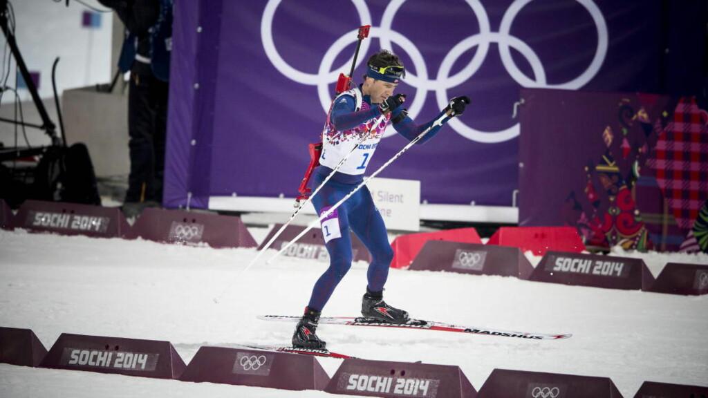 VETERAN: Ole Einar Bjørndalen tok to gull under lekene i Sotsji. Foto: Bjørn Langsem / DAGBLADET