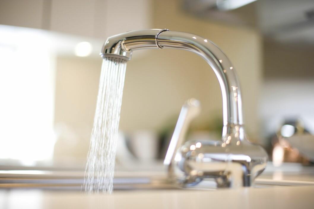 Vannavgift er en av de kommunale avgiftene vi betaler for, som i snitt har steget med 4,4 prosent det siste året. Foto: All Over Press