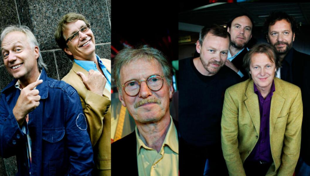 <strong>POPHEDER OG ROCKÆRE:</strong> DeLillos, Knutsen &amp; Ludvigsen og Øystein Sunde blir innlemmet i Rockheim Hall of Fame. Foto: Dagbladet