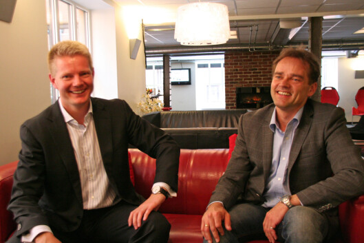 Roar Walderhaug og Ole-Kristian Siversten i MCP. Foto: Berit B. Njarga