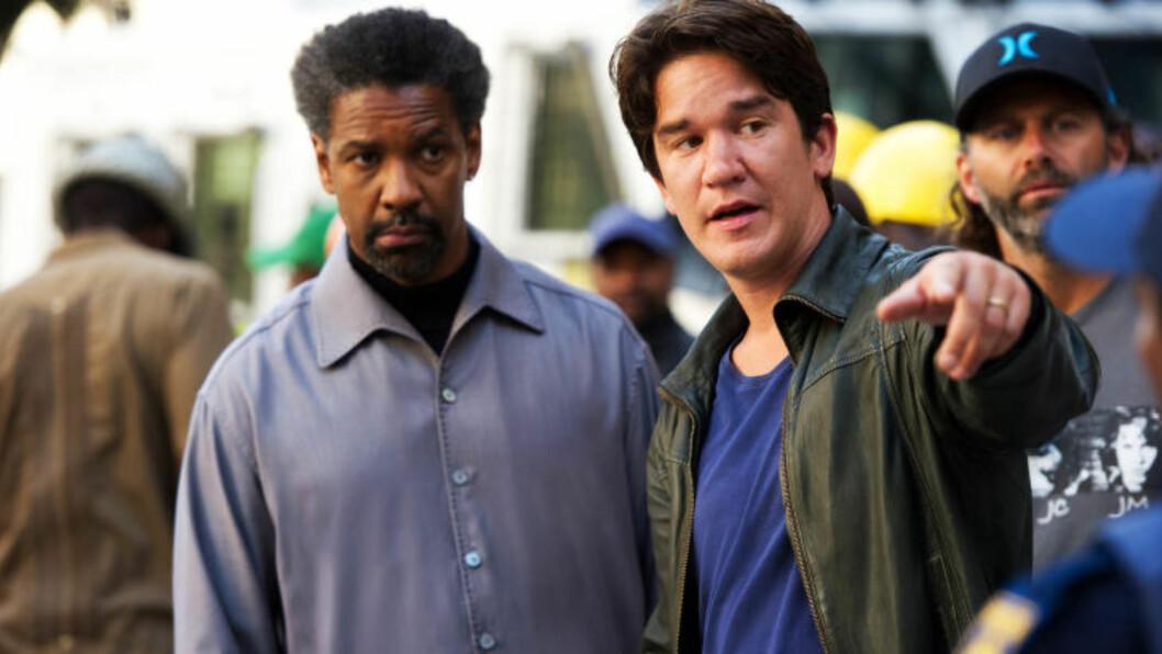 <strong>SUKSESSRIK SVENSKE:</strong> Daniel Espinosa er en av mange skandinaviske regissører som markerer seg i USA om dagen. Her regisserer han Denzel Washington i «Safe House». FOTO: PROMO