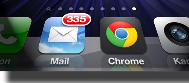 1425c509d Ios: Chrome lansert på iPhone og iPad - DinSide