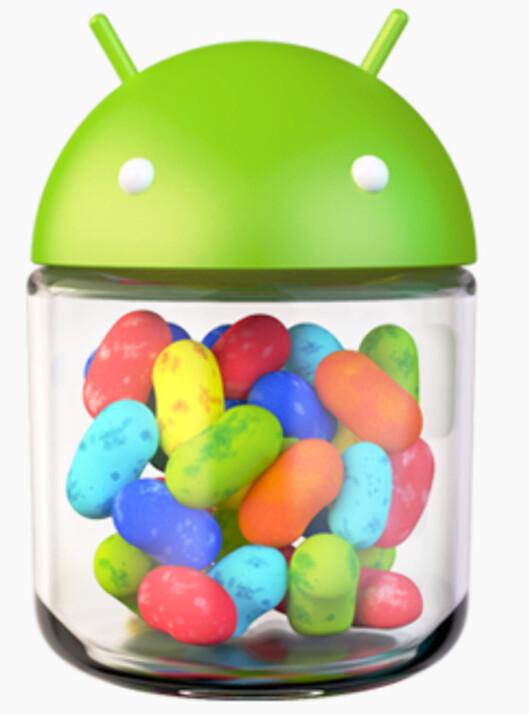 Jelly bean, Nexus 7, Nexux Q, glass-briller …