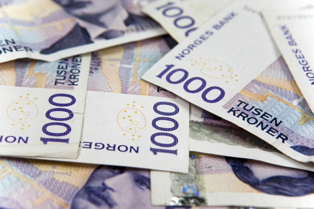 Det er langt mer sannsynlig å bli millionær ved pensjonssparing, enn ved å tippe lotto. Foto: PER ERVLAND
