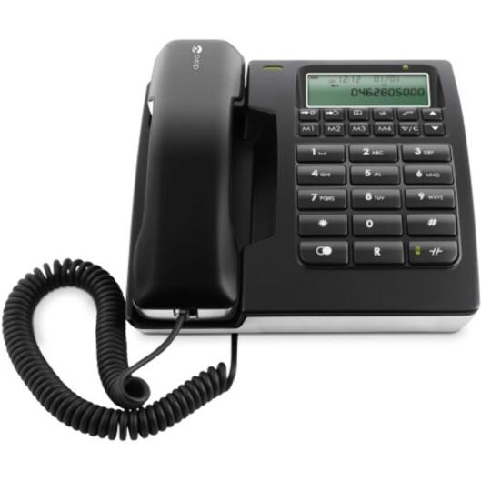 <strong>FARLIG:</strong> Har du alarm, burde du koble deg til med enten vanlig analog fasttelefon eller GSM. IP-telefoni kan bli farlig.  Foto: Doro/Elkjøp.no
