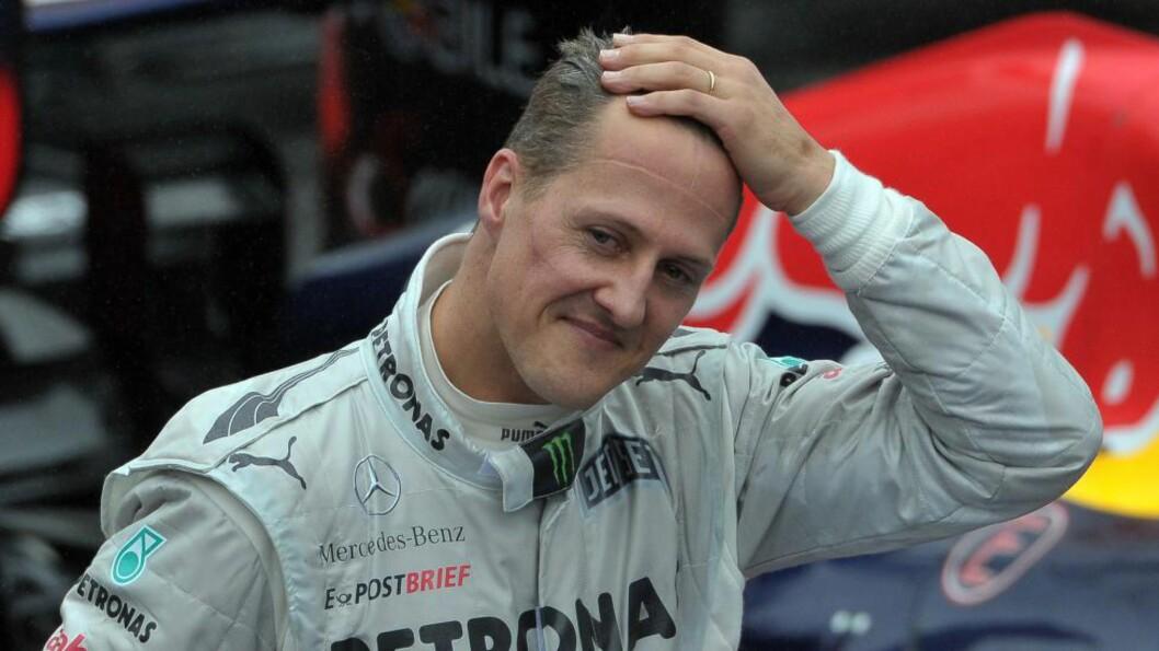 <strong> DÅRLIG NYTT:</strong>  En kilde tett på Schumacher-familien hevder at de har fått beskjed om at det trengs et mirakel for å redde formel 1-legenden. Foto:  AFP PHOTO/YASUYOSHI CHIBA