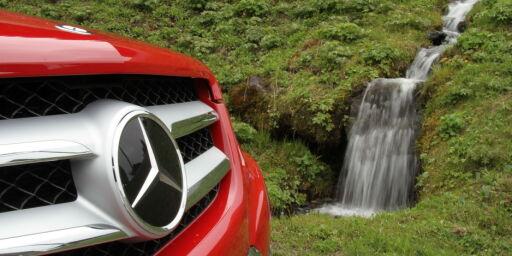 image: Prøvekjørt: Nye Mercedes-Benz GLK