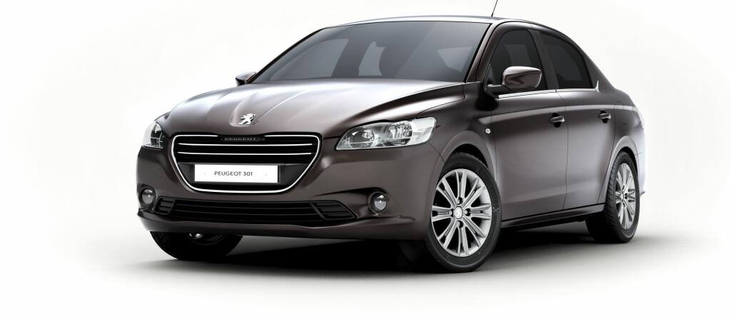 Peugeot 301 er ikke ment for det norske markedet