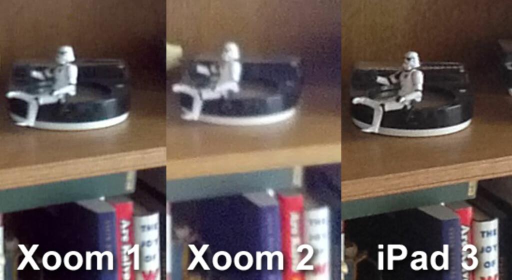 AJ: Kameraet på Xoom 2 har finere farger enn på Xoom 1, men som du ser her er det ikke alltid bedre innendørs. iPad 3 fikk de fineste resultatene under vår lille kameratest. Dette er et 100 prosent utsnitt fra et bilde tatt i full oppløsning.  Foto: Ole Petter Baugerød Stokke