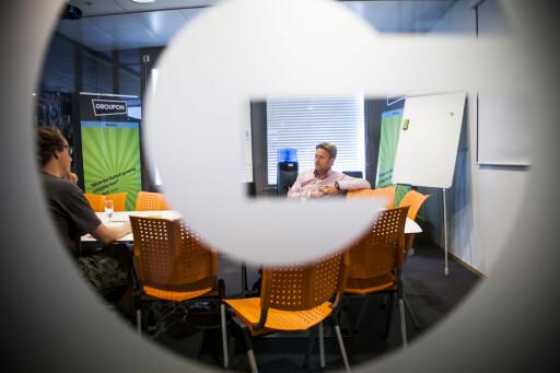IKKE OVER ENNÅ: Groupon har fortsatt misfornøyde kunder. Daglig leder Bredo Johansen sier til DinSide at dette dreier seg om etterslep, og at alle problemer snart skal være løst.  Foto: Per Ervland
