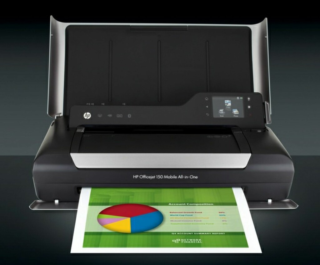 image: HP lanserer Officejet 150