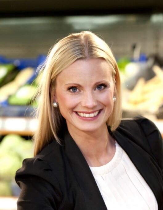 Silje Sandmæl er både programleder og forbrukerøkonom. Foto: DNB