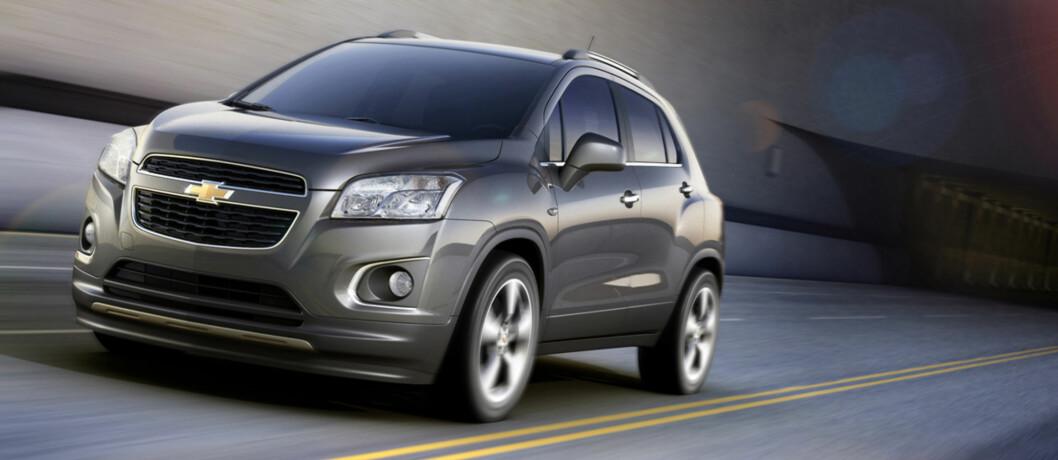 Chevrolet skal friste samme publikum som Opel. Foto: Chevrolet