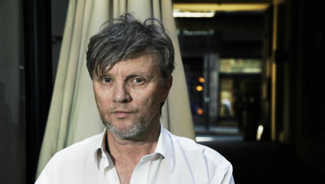 <strong>FLIK AV DET MENNESKELIGE:</strong> Det som binder menneskene sammen, som mangel på reell kontroll over livet, er tema i Terje Dragseths nye bok. Foto: Steinar Buholm / Dagbladet.