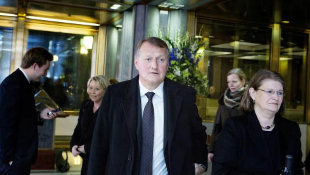 <strong>TJENTE GODT:</strong>  DNB-sjef Rune Bjerke tjente totalt drøye sju millioner kroner i fjor. Foto: Christian Roth Christensen / Dagbladet