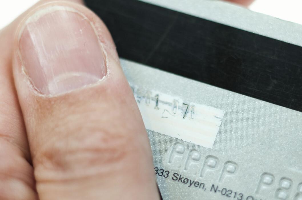 <strong><b>BETAL MED KREDITTKORT:</strong></b> Bruker du kredittkort når du kjøper flyreiser, er du sikret mot konkurser. Foto: Per Ervland