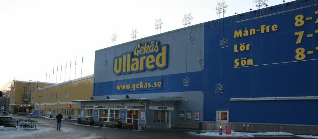 <b>MED BUSS TIL GEKÅS ULLARED?</b> Swebus starter ny bussrute til Ullared. Enn så lenge må nordmenn bytte i Göteborg. Foto: Kristin Sørdal