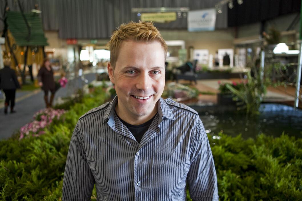 Stadig flere norske hageeiere vil ha fiks ferdig hage i ekspressfart, sier Kenneth Ingebretsen fra Plantasjen.  Foto: Per Ervland