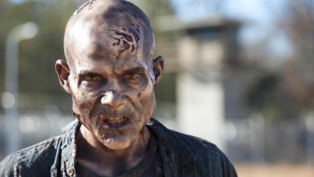 <strong>TOK NOK EN DYSTER VENDING:</strong> Vi er vant med deprimerende hendelser på «The Walking Dead», men episoden som gikk i USA på søndag og på Fox i Norge på mandag var ekstra hard. Foto: AP Photo/AMC, Gene Page, File