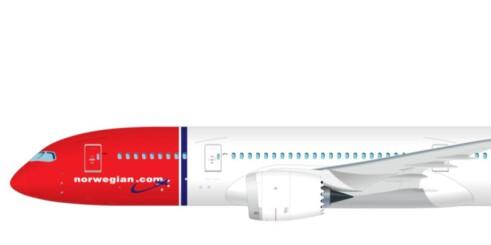 Dreamliner til Norge i mai
