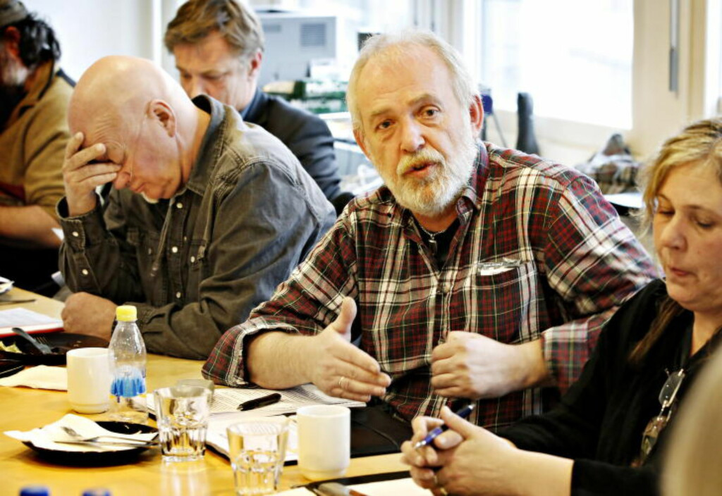 SYKEHUSSKADDE: Morten Tollefsen og Roar Magne Norheim (tv.) var blant sykehusofrene som møtte Pasientskadenemnda.  Foto: Jacques Hvistendahl / Dagbladet