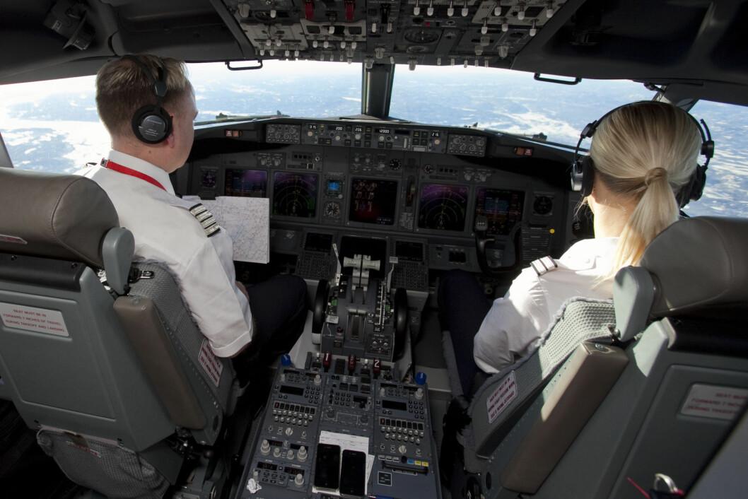 <strong>NYE ARBEIDSTIDER:</strong> Nye EU-regler kan gi norske piloter lengre arbeidstid. Foto: Per Ervland