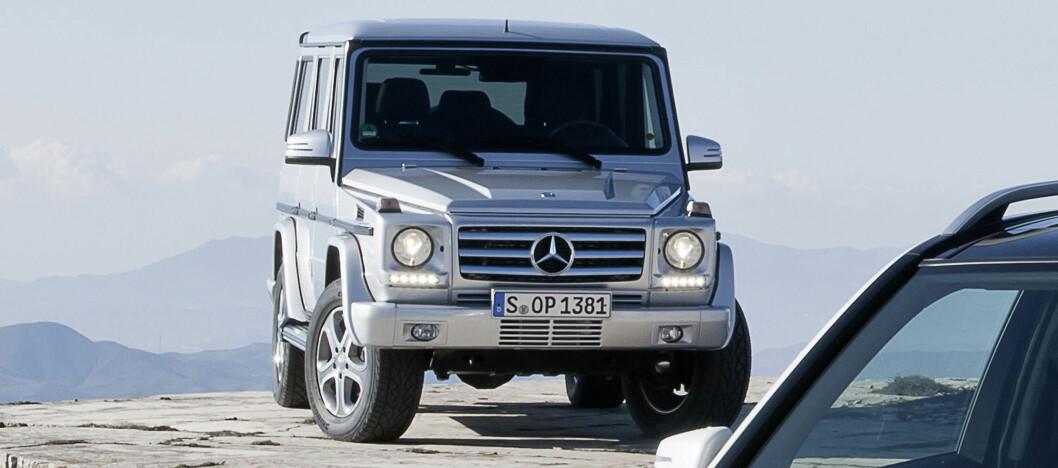 Dagens Mercedes-terrengvogn, G-klasse eller Geländewagen. Foto: Mercedes-Benz