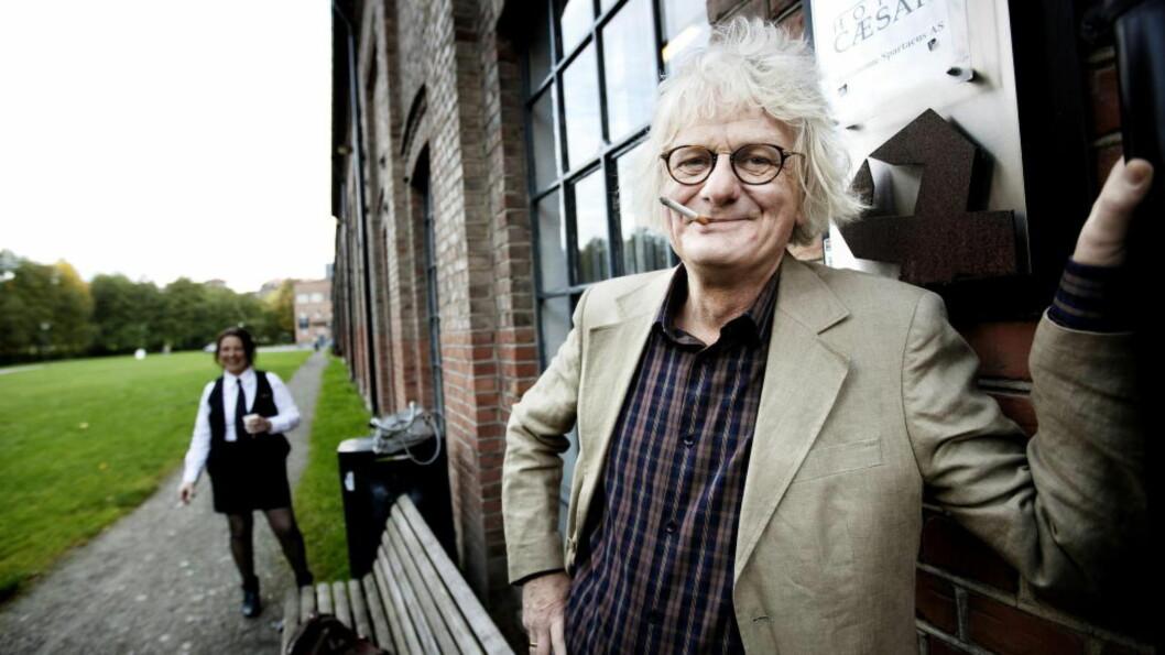 <strong>STRAFFER ELDRE:</strong> Per Inge Torkelsen selger dyrere billetter til pensjonister på sitt nye show. Eldre har mer penger enn studenter, sier komikeren og politikeren som dermed forsvarer dyre honnørbilletter. Foto: CHristian Roth Christensen