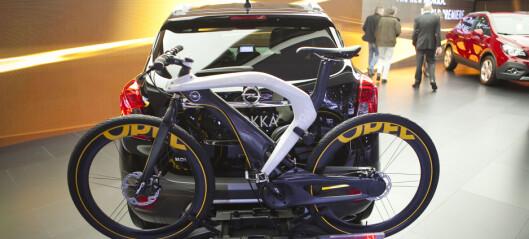 Kul sykkel - praktisk stativ