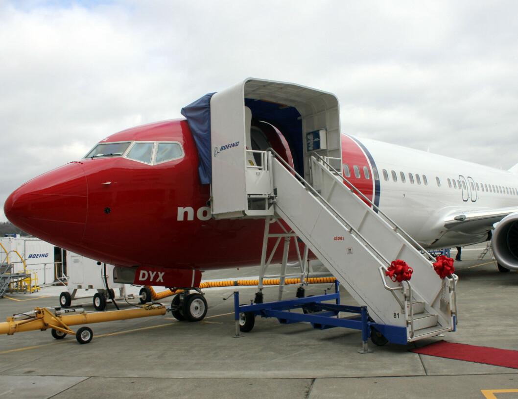 Splitter nytt fly. Norwegians tredje av totalt 13 nye fly i år. Foto: Silje Ulveseth
