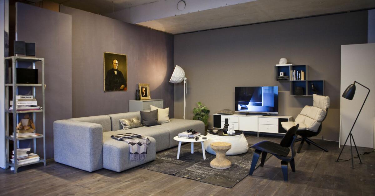 Storslått Slik integrerer du TV-en i interiøret - DinSide AK-06