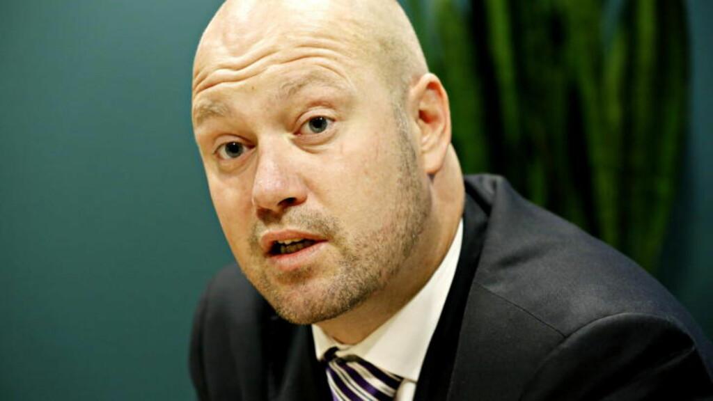 - ALVORLIG: - Hvitsnippforbrytelser truer vårt velferdssamfunn, sier justisminister Anders Anundsen. Foto: Jacques Hvistendahl / Dagbladet