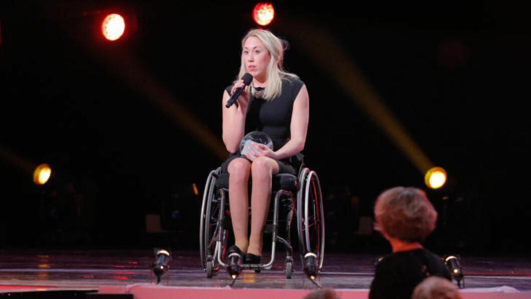 <strong>IDRETTSGALLAEN:</strong>  Sarah Louise Rung var nominert til idrettens Oscar etter at hun tok fire gull på fem mulige distanser under sommerens svømme-VM. Foto: Audun Braastad / NTB scanpix