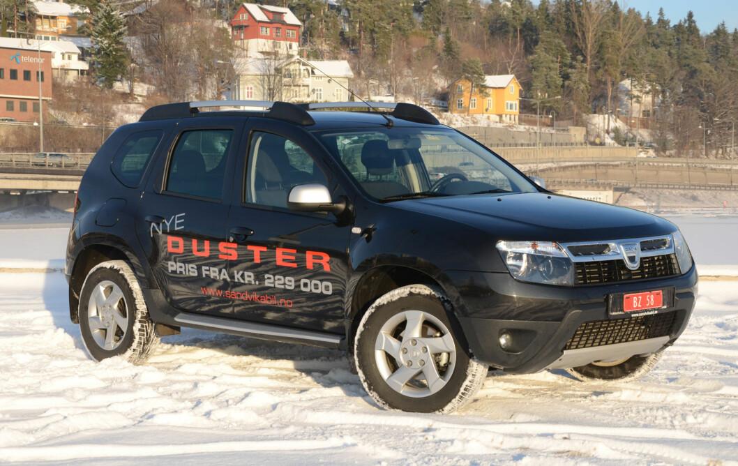 Det beste med Duster er en lav innstegspris og typiske SUV-egenskaper Foto: Cato Steinsvåg