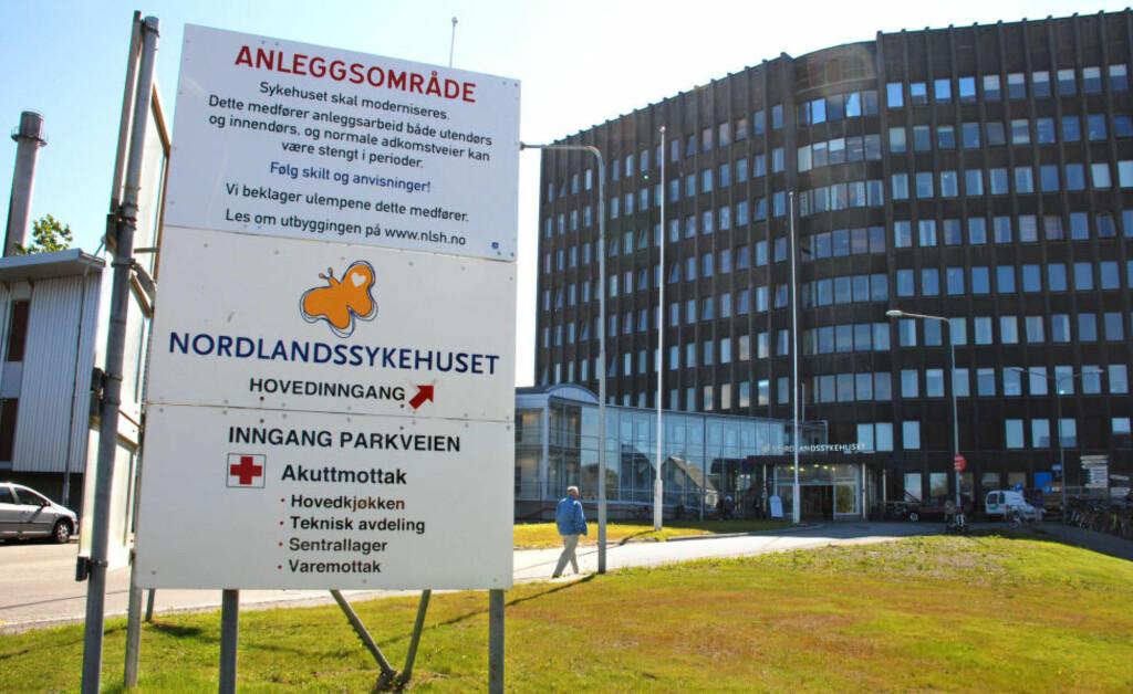 ETTERFORSKES: Nordlanssykehuset politietterforsker etter at celleprøver for livmorhalskreft er blitt feiltolket gjennom flere år. Foto: Erik Veigård/NTB Scanpix