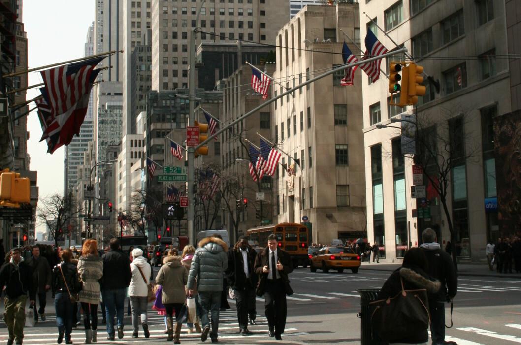 <strong><b>DÅRLIGE FLYPLASSER:</strong></b> New York er en fantastisk by, men spesielt supre flyplasser har de ikke.  Foto: Silje Ulveseth